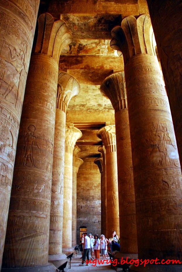 Temple Of Edfu - Hypostyle Hall