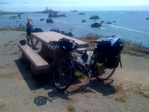 My Bike on the California Coast