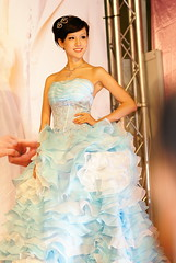 DSC00534 (~~) Tags: strapless bluedress bluegown