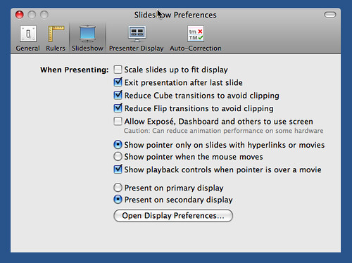 keynotepreferences