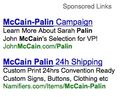 McCain Palin Ad