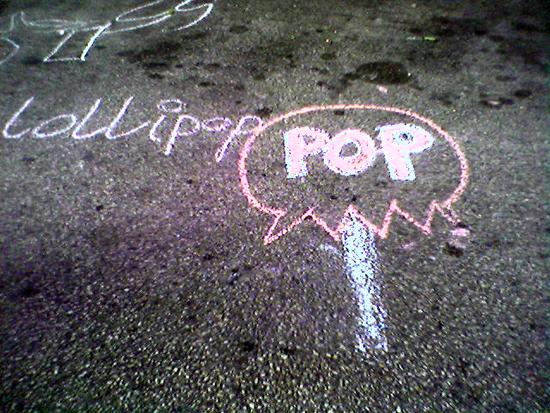 Chalk Lollipop (Click to enlarge)