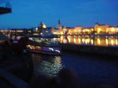 Night on Vltava (kh1234567890) Tags: night boat czech prague praha czechrepublic vltava parnik