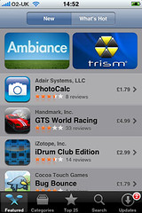 iPhone App Store: the smorgasbord