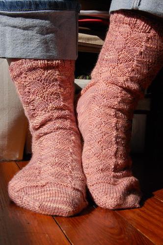 Shellac Socks, take three