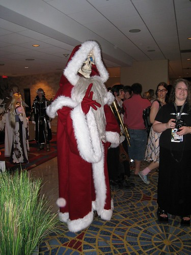 It's the Hogfather! Er... Wait...