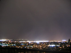 Time-lapse Misty Moonset (almost) (swilsonmc) Tags: misty utah timelapse moonset provo imagesequence