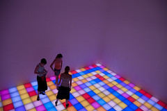 New York City #Untitled (Dance Floor), 1996 (Alain Wibert) Tags: nyc newyorkcity colors nikon nikond70 guggenheim dancefloor lightroom cityofnewyork