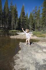 Pantsless Rock-Throwing (bbills) Tags: yosemite tuolumnemeadows tuolumnemeadowsyosemite