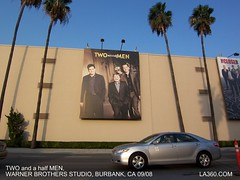 Two and a half Men Billboard, Warner Brothers ...