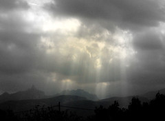 rays on a dark afternoon (Marlis1) Tags: clouds spain 365 sunrays elsports weatherphotography justclouds marlis1