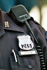 TO PROTECT AND SERVE (MIKECNY) Tags: pen radio police troy badge