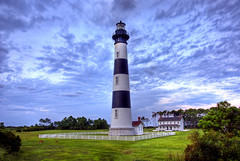 (Chuck Robinson) Tags: lighthouse sunrise sony northcarolina outerbanks hdr obx a100 2007 carlzeiss bodieisland photomatix 5exp cz1680