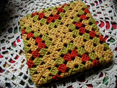 Granny Square Pot Holder