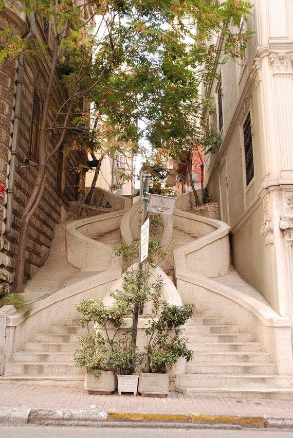 Istanbul- Kamondu Stair卡蒙度階梯