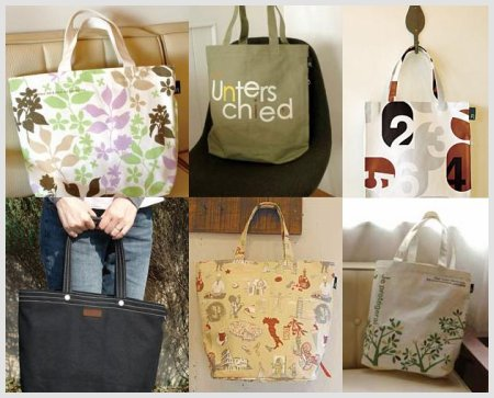 Rootote Canvas Tote Bags