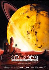 Cartel del Festival de Cine Fantastico y Ciencia Ficción de Sitges