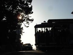 Tram silhouette