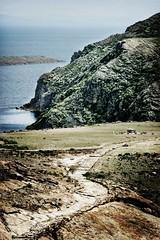 The Place of Sacrifice (Ola Jacobsen) Tags: travel laketiticaca titicaca inca landscape path canoneos10d bolivia isladelsol islandofthesun placeofsacrifice titikalathesacredrock