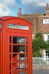 It's good to talk.. (Uncle Berty) Tags: uk red england square village phone box berty brill bucks smalls the hp18 robfurminger