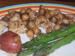 Balsamic Chick Chick dinner