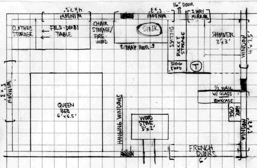 Tiny House floorplan as of yesterday