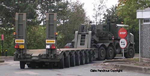 British Army HET (Heavy Equipment Transporter)