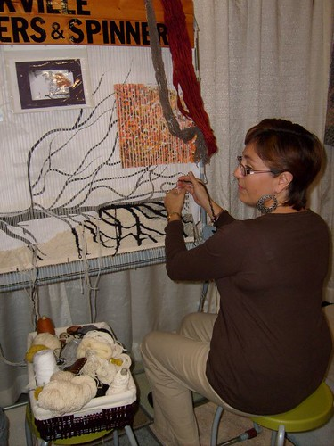 Oakville Weavers and Spinners Guild Booth