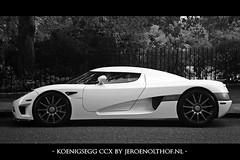 Koenigsegg CCX (Jeroenolthof.nl) Tags: auto from white black london car photography photo amazing jeroen nikon automobile dubai sweden united uae d70s plate emirates arab edition koenigsegg  1870    ccx f3545  olthof                cc8  jeroenolthofnl jeroenolthof