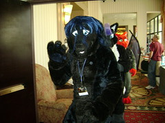 Keapano in the Fursuit Parade