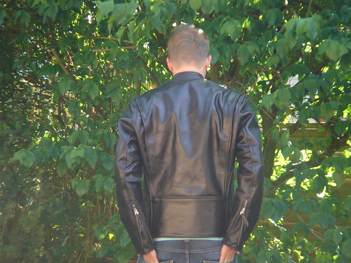 post pics of your cafe racer jackets | the fedora lounge