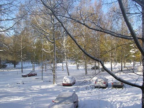 Kotikatu talviasussa