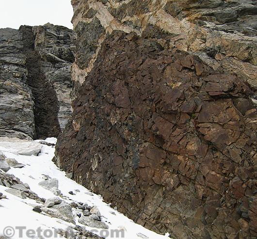 Middle Teton Dike