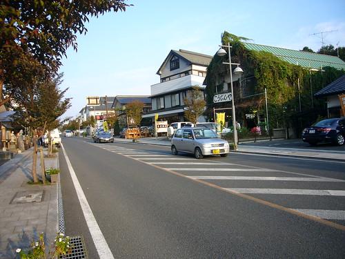 益子 城内坂