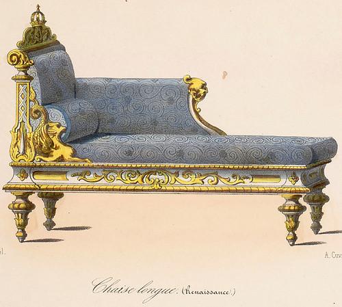 015-Chaises Lounge estilo Renacimiento