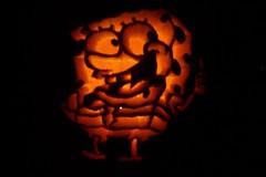 Spongebob Jack o lantern