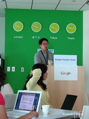 google科技鮮師體驗營之eric