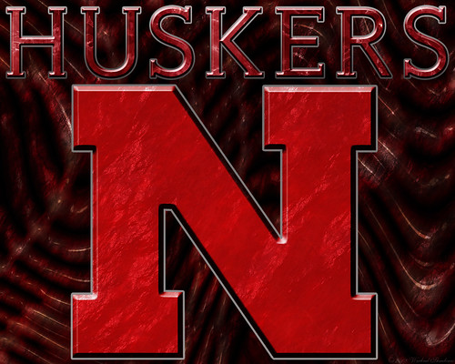 nebraska cornhuskers wallpaper. Huskers N Text 3 CR