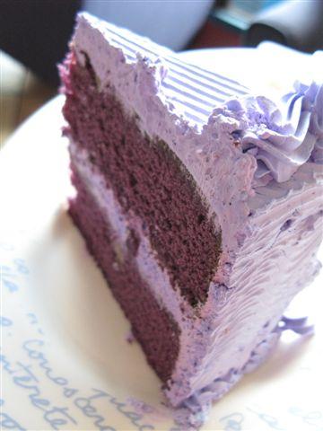 A la Creme's ube cake