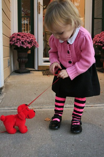 walking baby clifford