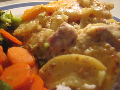 Mustard Chicken Bake