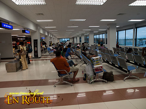 Bacolod Airport Pre-departure Area