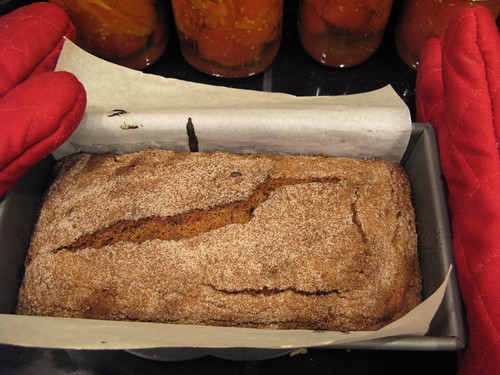 fresh baked banana bread!