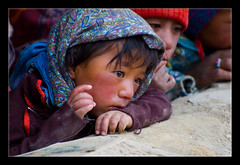 (MyCameraAndEye) Tags: travel people india little ladakh tsomoriri korzok lavanyaviswanath