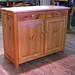 Schweb Server in Bookmatched, Reclaimed Pine