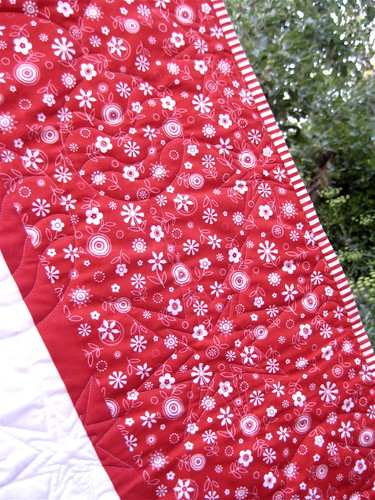 Christmas Tree Quilt floral border