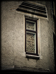 The Secret (gothicburg) Tags: brick window gteborg blind gothenburg prisoner lightroom brickedup noncoloursincolour revealedgbg engelbrektsgatanxchalmersgatan