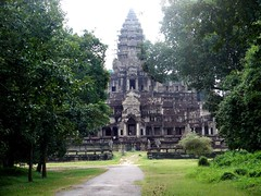our first glimpse of Angkor Wat