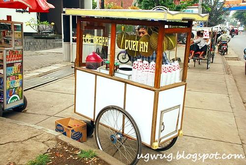Durian Ice Cream Stall