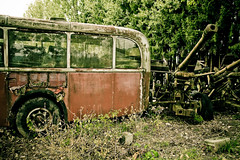 Autofriedhof Grbetal (Rolf F.) Tags: auto old friedhof bus classic cars cemetery car trash yard canon vintage lost eos rebel schweiz switzerland interestingness interesting junk rust decay rusty dump explore forgotten cannon 1750 artillery oldtimer bern 28 junkyard autos left tamron f28 carcemetery autofriedhof cardump historischer bombard xti tamron1750 1750mm tamron1750mm 400d grbetal kaufdorf